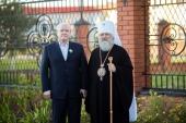Митрополит Ханты-Мансийский Павел вручил главе Нижневартовского района орден Русской Православной Церкви