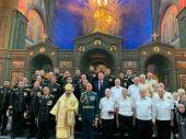 В День Военно-морского флота председатель Синодального отдела по взаимодействию с Вооруженными силами возглавил Божественную литургию в главном храме ВС РФ