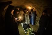 В Псково-Печерском монастыре простились с почившим старейшим насельником обители монахом Мартирием (Шубиным)