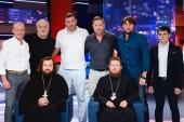 На украинском телеканале состоялся четырехчасовый международный телефорум «Люди. День Крещения Руси»