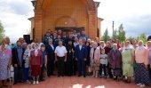 В кафедральном городе Карасукской епархии освящен храм в честь равноапостольного князя Владимира