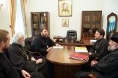В Финансово-хозяйственном управлении состоялось совещание по вопросам развития Московской духовной академии