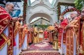 Блаженнейший митрополит Онуфрий возглавил торжества по случаю престольного праздника храма Илии Пророка на Подоле г. Киева