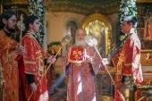 В день памяти пророка Божия Илии Святейший Патриарх Кирилл совершил Литургию в храме Илии Пророка в Обыденском переулке в Москве