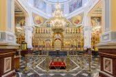 Вознесенский кафедральный собор Алма-Аты подготовлен к великому освящению