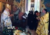 На подворье Русской духовной миссии в Магдале прошли торжества по случаю престольного праздника