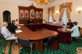Председатель Финансово-хозяйственного управления провел совещание по вопросам реставрации храмов в епархиях