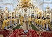 В день памяти праведного Феодора Ушакова глава Санкт-Петербургской митрополии совершил Литургию в кафедральном соборе Саранска