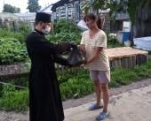 Церковь передала в Алтайском крае почти 8 тонн продуктовой помощи