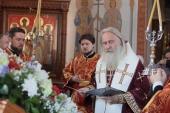 Председатель Синодального отдела по монастырям и монашеству возглавил торжества по случаю престольного праздника Борисоглебского Аносина монастыря