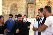 Гуманитарную помощь из России привезли в пострадавший от войны Успенский храм в сирийском городе Забадани