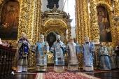 В Смоленске прошли торжества в честь Смоленской иконы Божией Матери «Одигитрия»