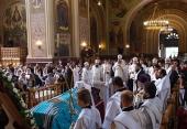 Состоялось отпевание митрополита Екатеринодарского и Кубанского Исидора