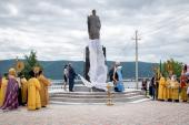 В Николаевске-на-Амуре освящен памятник небесному покровителю города святителю Николаю Чудотворцу