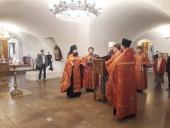 В Новоспасском ставропигиальном монастыре состоялся молебен о здравии болящих гемофилией
