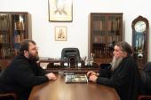 Председатель Финансово-хозяйственного управления и правящий архиерей Рыбинской епархии обсудили восстановление кафедрального собора в Рыбинске
