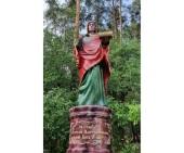 У храма в честь великомученика Пантелеимона в Екатеринбурге установлен памятник святому целителю