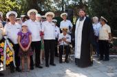В Севастополе совершили литию у мемориала морякам-подводникам АПЛ «Курск»