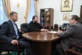 Председатель Финансово-хозяйственного управления обсудил с директором Правового департамента Правительства РФ вопросы возвращения церковного имущества