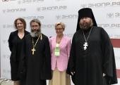 Представители Церкви рассказали об опыте посещения пациентов в период пандемии на форуме «Здоровье нации»