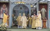 Патриарший наместник Московской епархии возглавил торжества по случаю 25-летия возобновления монашеской жизни в Вознесенской Давидовой пустыни