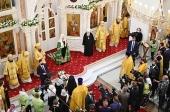 Патриаршая проповедь после Литургии в подмосковном храме святителя Николая Чудотворца в Красногорске