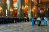 В главном храме Вооруженных сил России прошли праздничные мероприятия по случаю Дня Воздушно-космических сил