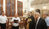 Представители МЧС России посетили Подворье Русской Православной Церкви в Бейруте