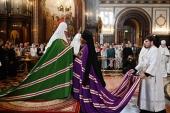 Слово Святейшего Патриарха Кирилла при вручении архиерейского жезла Преосвященному Иосифу, епископу Тарусскому