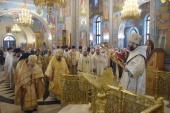 Состоялись торжества по случаю 25-летия учреждения Абаканской епархии