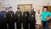 Управляющий делами Украинской Православной Церкви встретился с иерархом Антиохийского Патриархата