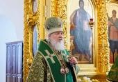 Патриаршая проповедь после Литургии в Свято-Троицком соборе Соловецкого монастыря