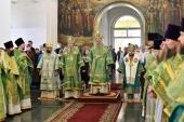 В городе Яранске Кировской области молитвенно отметили пятую годовщину обретения мощей преподобного Матфея Яранского
