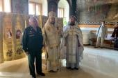 Иерарх Сербской Церкви передал походный иконостас отделу Архангельской епархии по взаимодействию с Вооруженными силами