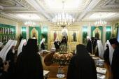 Священный Синод назначил председателя и секретаря комиссии Межсоборного присутствия по богослужению и церковному искусству