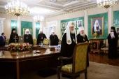 В Москве состоялось очередное заседание Священного Синода Русской Православной Церкви