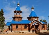 В Мезени освящен новый храм, построенный стараниями местных жителей
