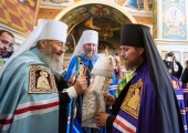 Блаженнейший митрополит Киевский Онуфрий возглавил хиротонию архимандрита Феодосия (Марченко) во епископа Ладанского