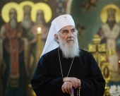Patriarch Kirill congratulates the Primate of the Serbian Orthodox Church on his 90th birthday