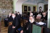 В Московской духовной академии прошло первое в новом учебном году общее заседание профессорско-преподавательской корпорации