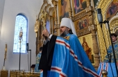 Митрополит Тверской и Кашинский Амвросий прибыл к месту служения