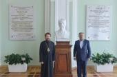 Председатель Отдела внешних церковных связей встретился с ректором Российского государственного аграрного университета имени К.А. Тимирязева