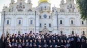 Блаженнейший митрополит Онуфрий возглавил выпускной акт КДАиС