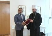 Состоялась встреча Патриаршего экзарха Юго-Восточной Азии с послом Сингапура в России