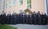 Представители Межведомственной комиссии по вопросам образования монашествующих посетили Тульскую митрополию