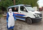 «Автобус милосердия» Бишкекской епархии возобновил выезды к бездомным