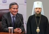 Состоялись переговоры Патриаршего экзарха Юго-Восточной Азии и министра иностранных дел Сингапура