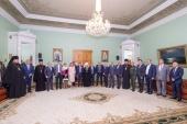 Митрополит Санкт-Петербургский Варсонофий встретился с ректорами вузов Северной столицы
