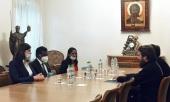 Председатель Отдела внешних церковных связей встретился с послом Шри-Ланки в России