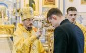 Митрополит Минский Вениамин совершил Литургию в Жировичском ставропигиальном мужском монастыре